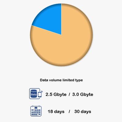 Prepaid 4G Data SIM COMST